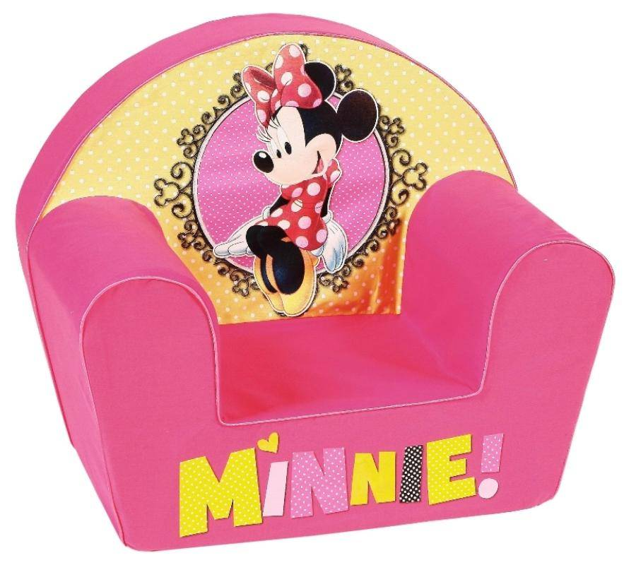disney fauteuil minnie shopping doudouplanet. Black Bedroom Furniture Sets. Home Design Ideas