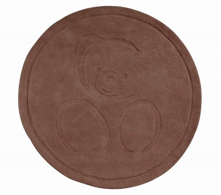 kaloo tapis rond chocolat doudouplanet. Black Bedroom Furniture Sets. Home Design Ideas