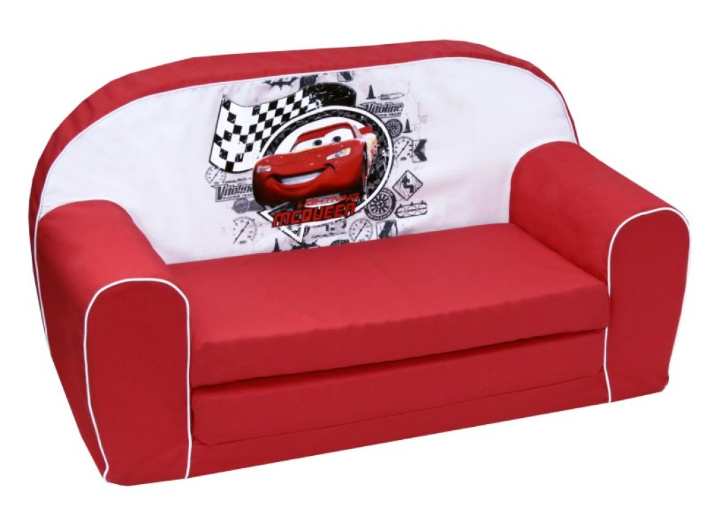 disney canap lit racing cars doudouplanet. Black Bedroom Furniture Sets. Home Design Ideas