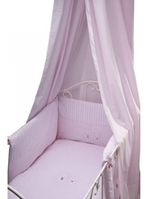 tartine et chocolat ciel de lit garda rose. Black Bedroom Furniture Sets. Home Design Ideas