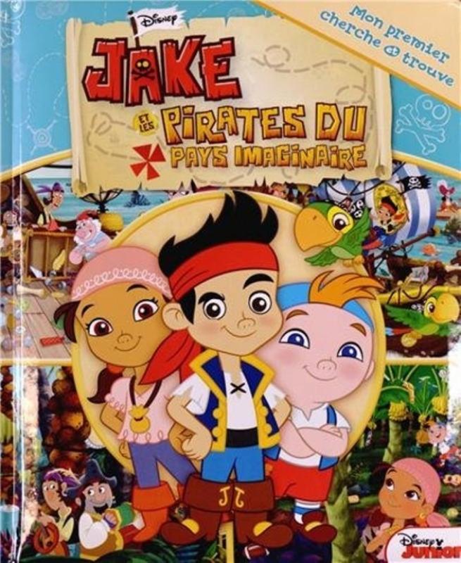 Fleurus livre cherche et trouve jake les pirates - Jake et les pirates ...