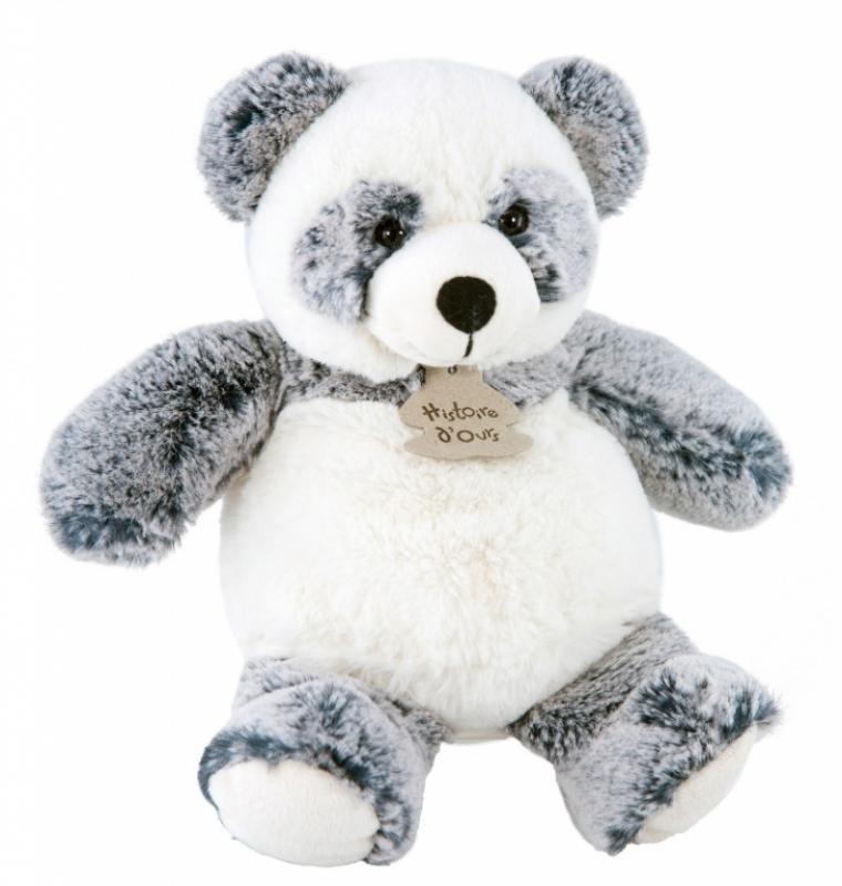 histoire d ours peluche panda boule zanimoos 24 cm. Black Bedroom Furniture Sets. Home Design Ideas