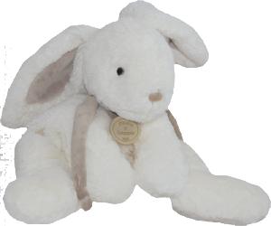 Peluche Lapin Bonbon Taupe - 20 cm