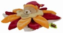 Doudou Fleur  Orange Tatoo