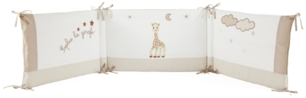 babycalin tour de lit sophie la girafe doudouplanet. Black Bedroom Furniture Sets. Home Design Ideas