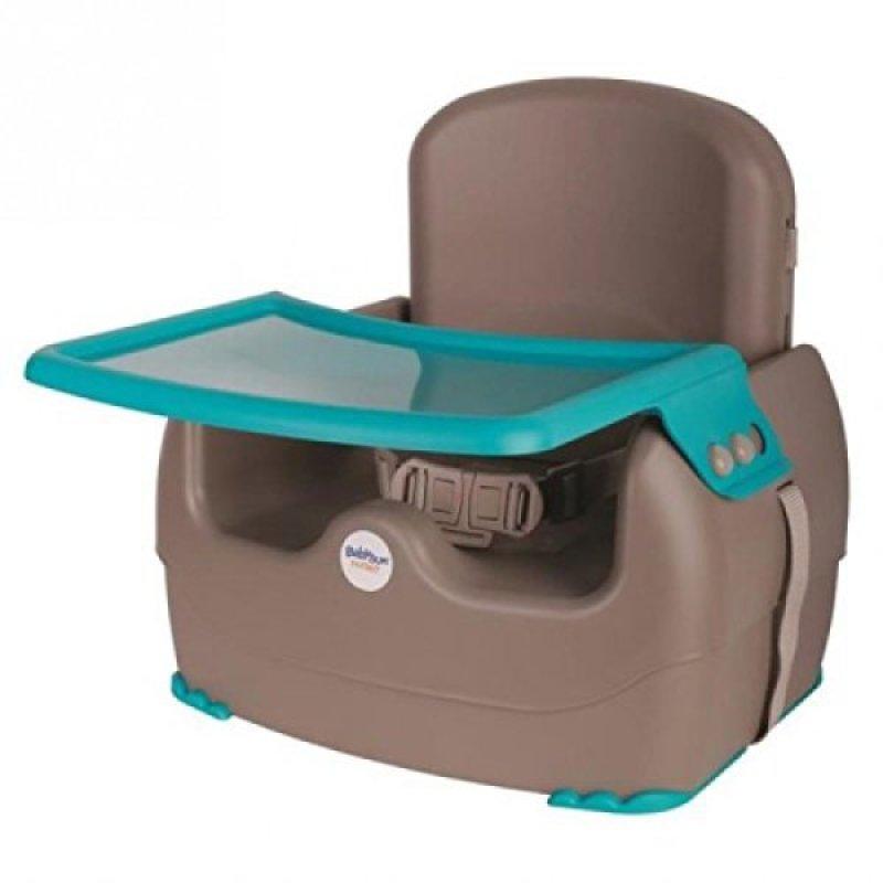 babysun nursery rehausseur king booster bleu et marron. Black Bedroom Furniture Sets. Home Design Ideas