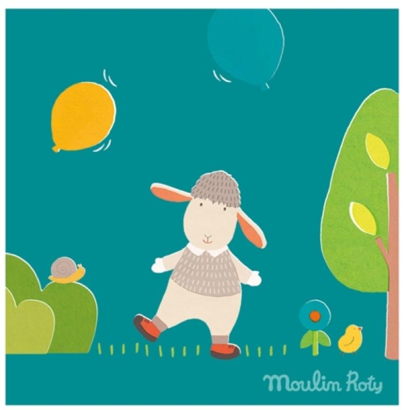 Moulin roty tableau mouton mr ciboulette les cousins du - Tableau moulin roty ...