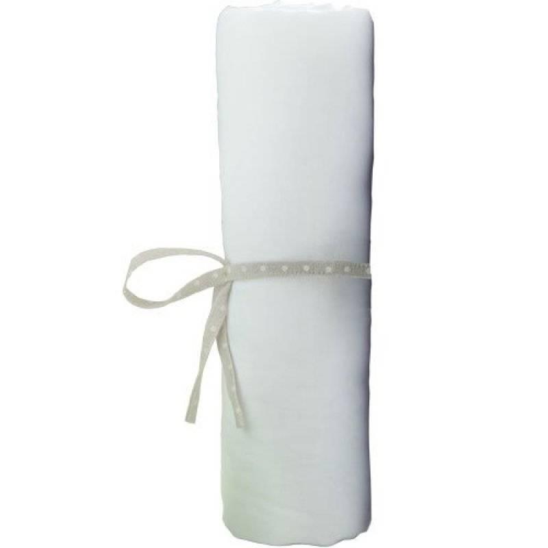 Babycalin drap housse jersey blanc 70x140 cm for Drap housse 70x140
