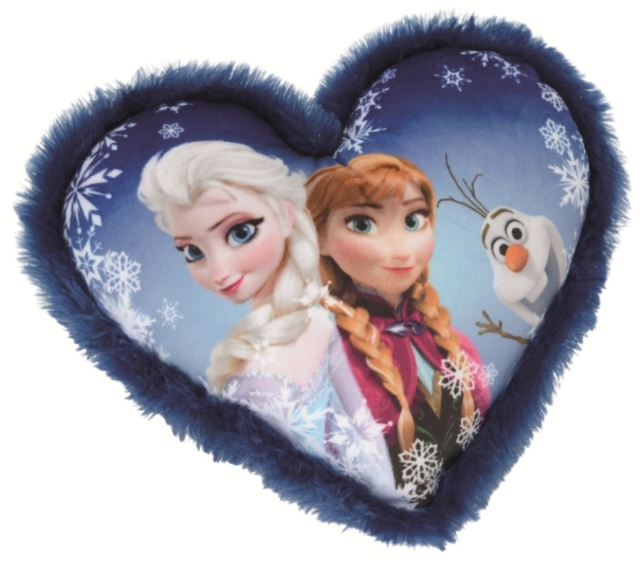 disney coussin coeur anna elsa et olaf la reine des neiges. Black Bedroom Furniture Sets. Home Design Ideas