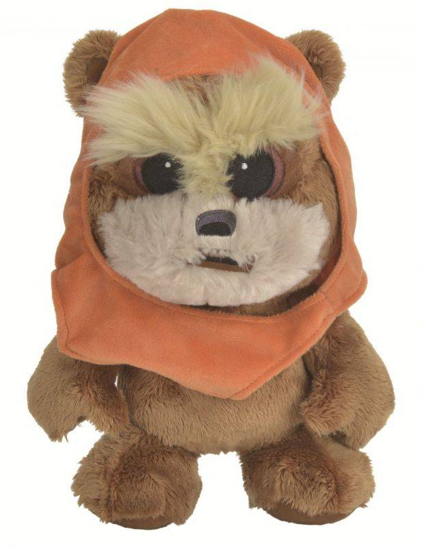 disney peluche ewok star wars 25 cm doudouplanet. Black Bedroom Furniture Sets. Home Design Ideas