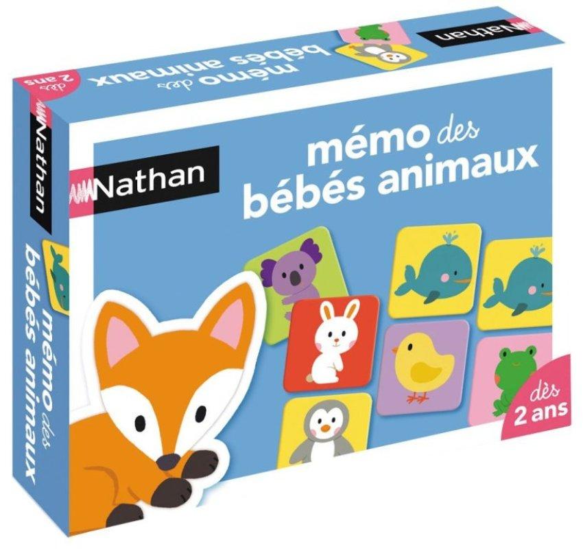 nathan jeux jeu m mo b b s animaux doudouplanet. Black Bedroom Furniture Sets. Home Design Ideas