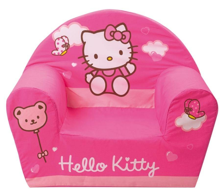 fun house fauteuil club hello kitty doudouplanet. Black Bedroom Furniture Sets. Home Design Ideas