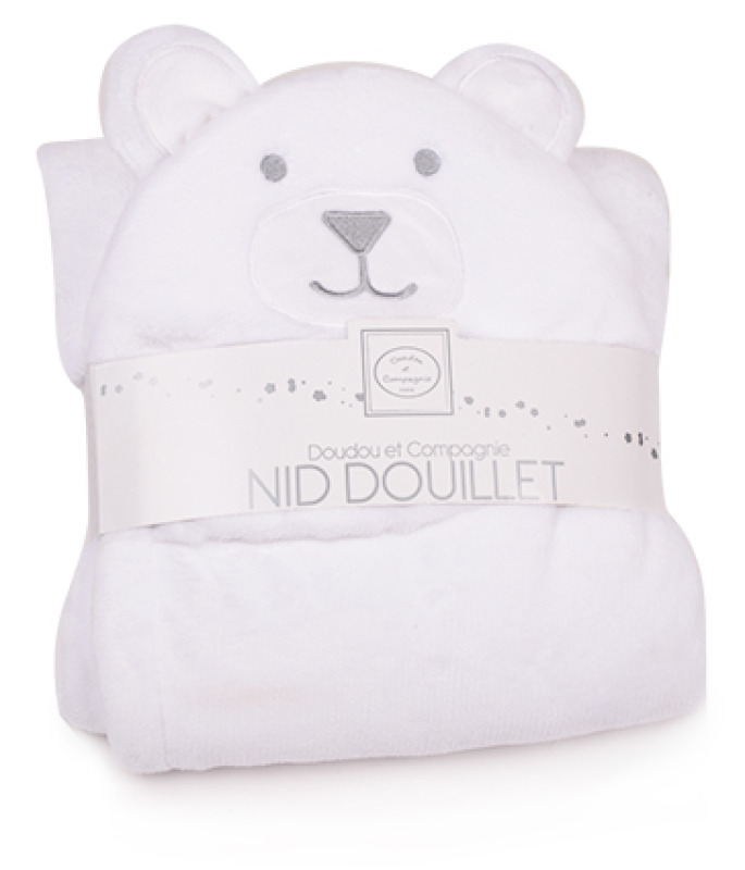 doudou et compagnie nid douillet ours blanc. Black Bedroom Furniture Sets. Home Design Ideas