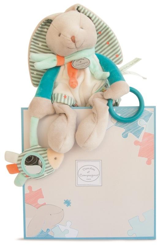 d/écorations de vacances int/érieures ext/érieures de lapin gonflable avec des lumi/ères de LED A, Prise britannique Lapin debout gonflable de P/âques
