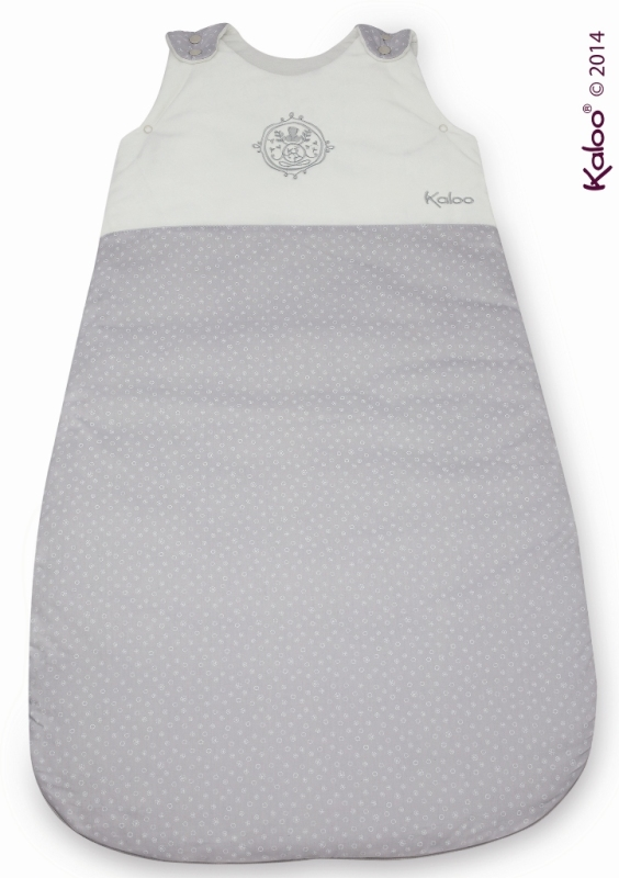 kaloo gigoteuse ajustable blanche grise perle 80 90 cm. Black Bedroom Furniture Sets. Home Design Ideas