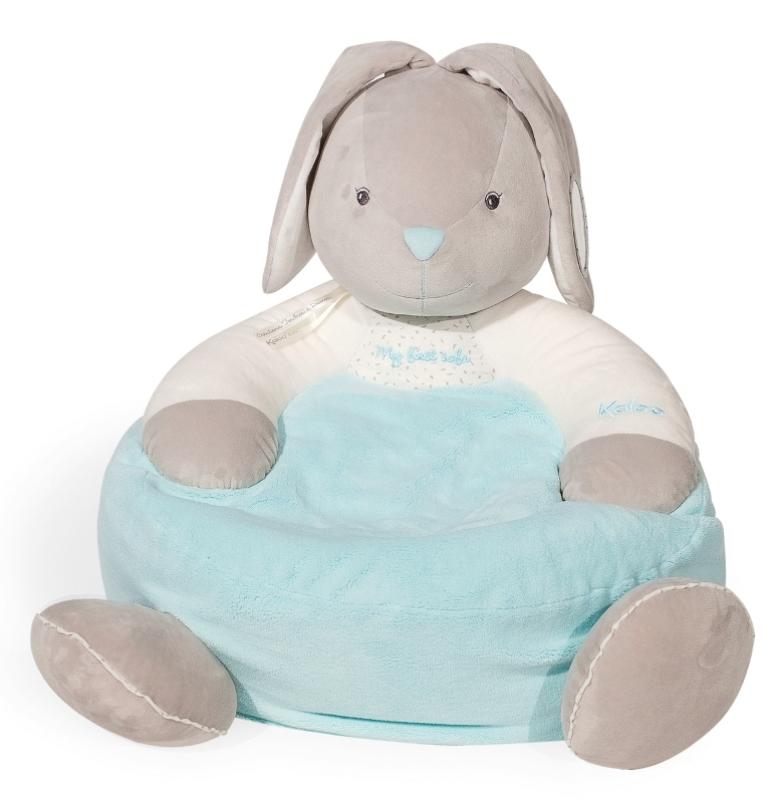 Plume - Chausson Lapinou bleu Maxi Toys