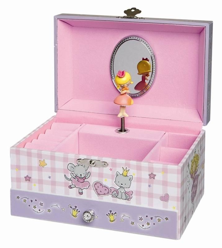 trousselier bo te bijoux musicale princesse parme figurine. Black Bedroom Furniture Sets. Home Design Ideas