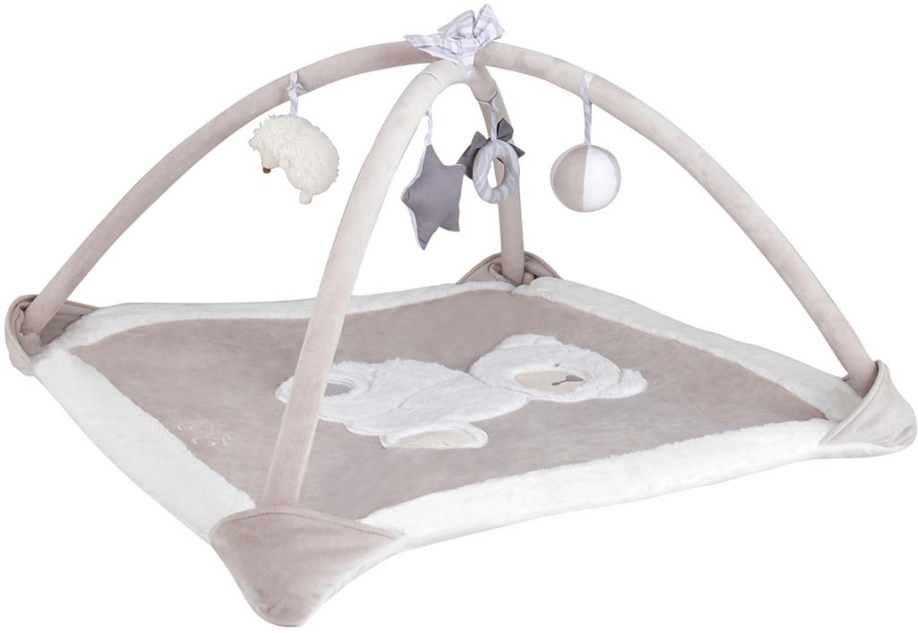tartine et chocolat tapis d 39 eveil gris doudouplanet. Black Bedroom Furniture Sets. Home Design Ideas