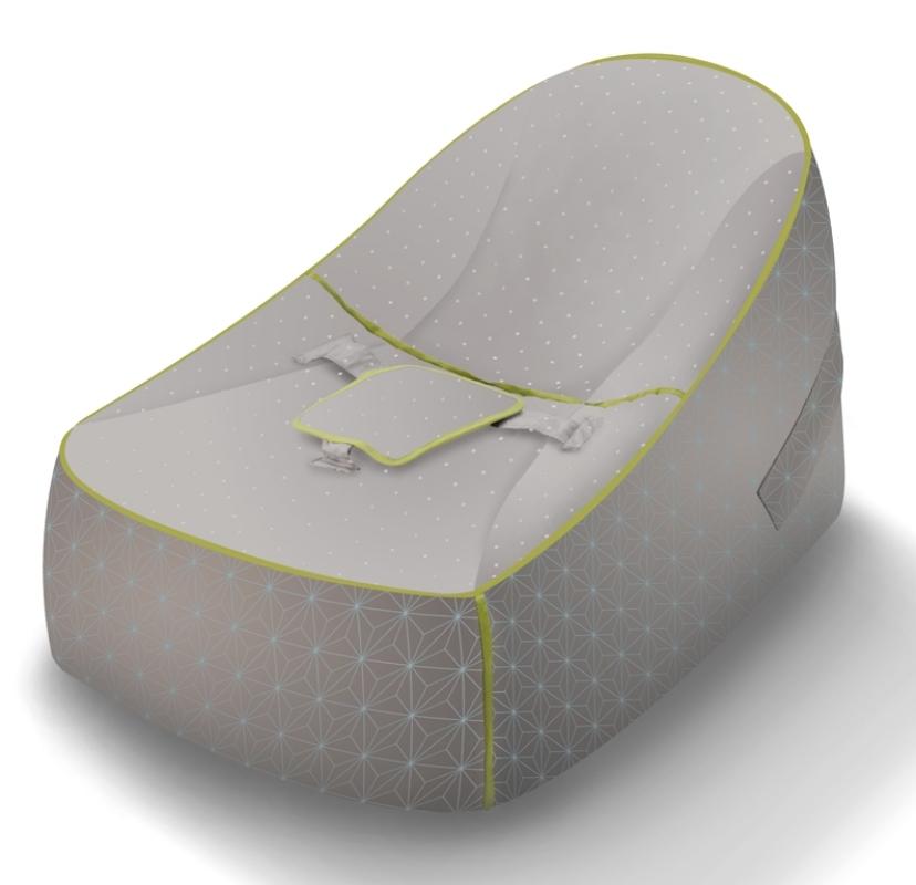 beaba baby lounge imprim taupe doudouplanet
