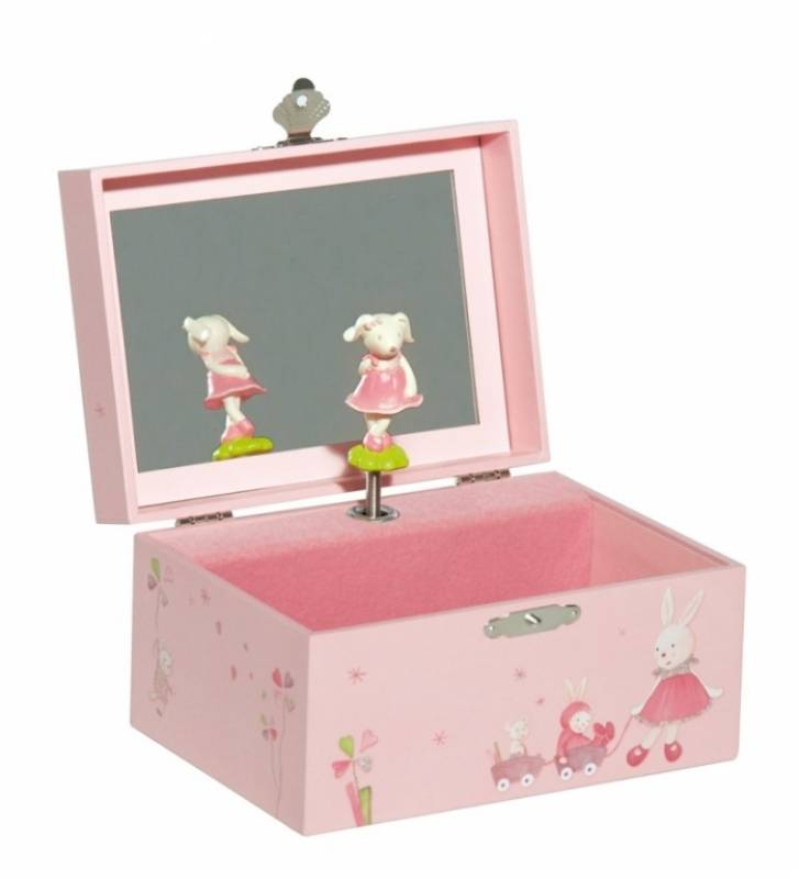 moulin roty bo te musique coffret myrtille et capucine. Black Bedroom Furniture Sets. Home Design Ideas