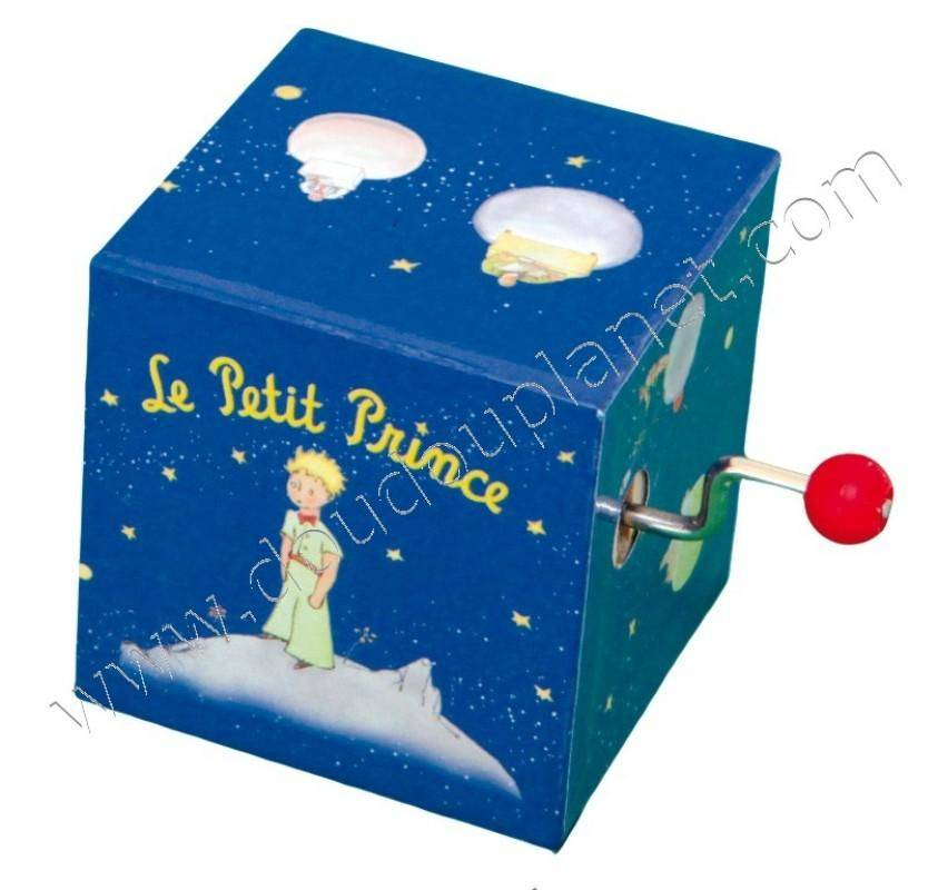 trousselier boite musique manivelle le petit prince. Black Bedroom Furniture Sets. Home Design Ideas