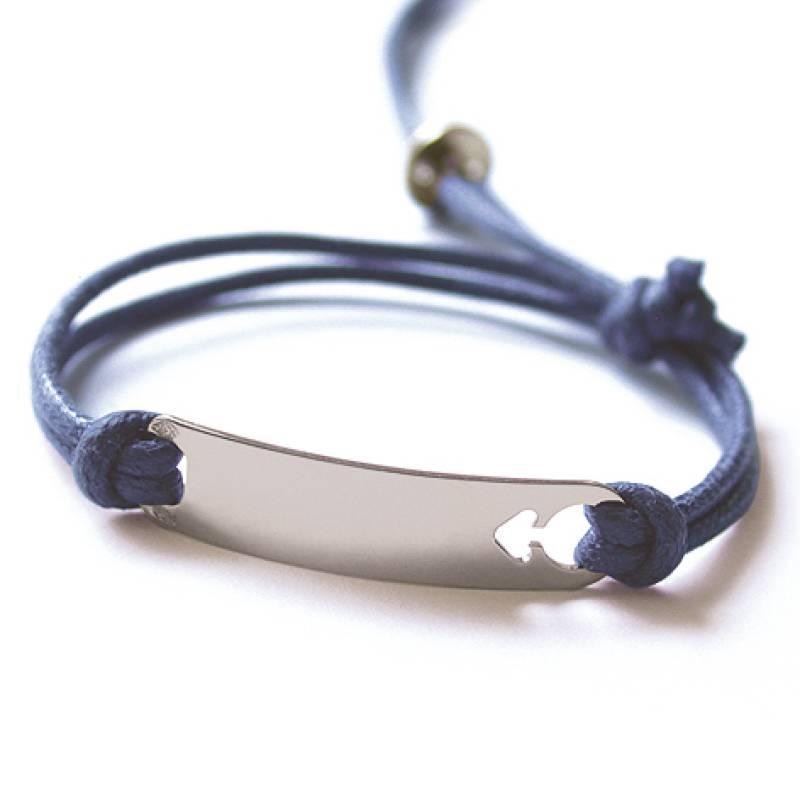 Mikado Bracelet I Am A Boy Argent Azncien