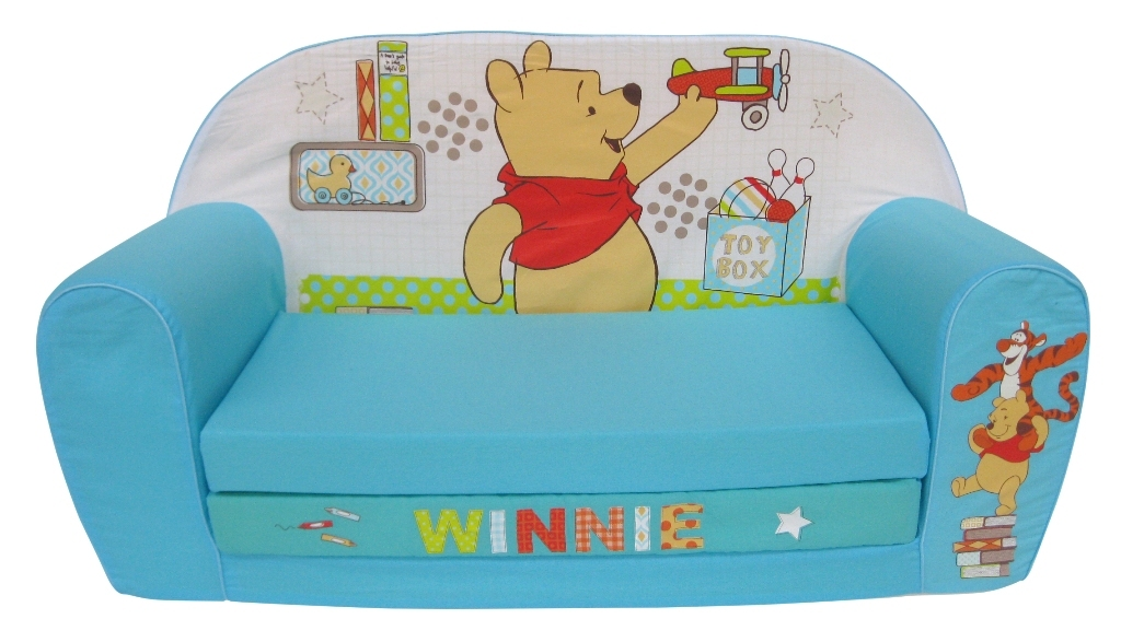 disney canap lit winnie tidy time doudouplanet. Black Bedroom Furniture Sets. Home Design Ideas