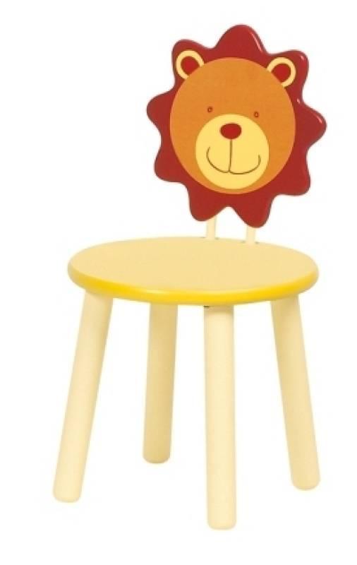 moulin roty chaise lion les loustics doudouplanet. Black Bedroom Furniture Sets. Home Design Ideas