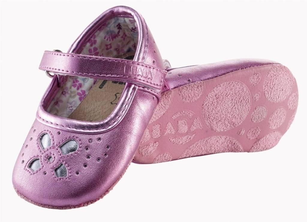 Beaba chaussure ballerine rose 6 12 mois for Plante 6 mois