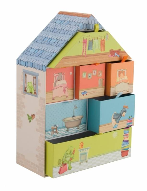 moulin roty coffret tr sor les loupiots. Black Bedroom Furniture Sets. Home Design Ideas