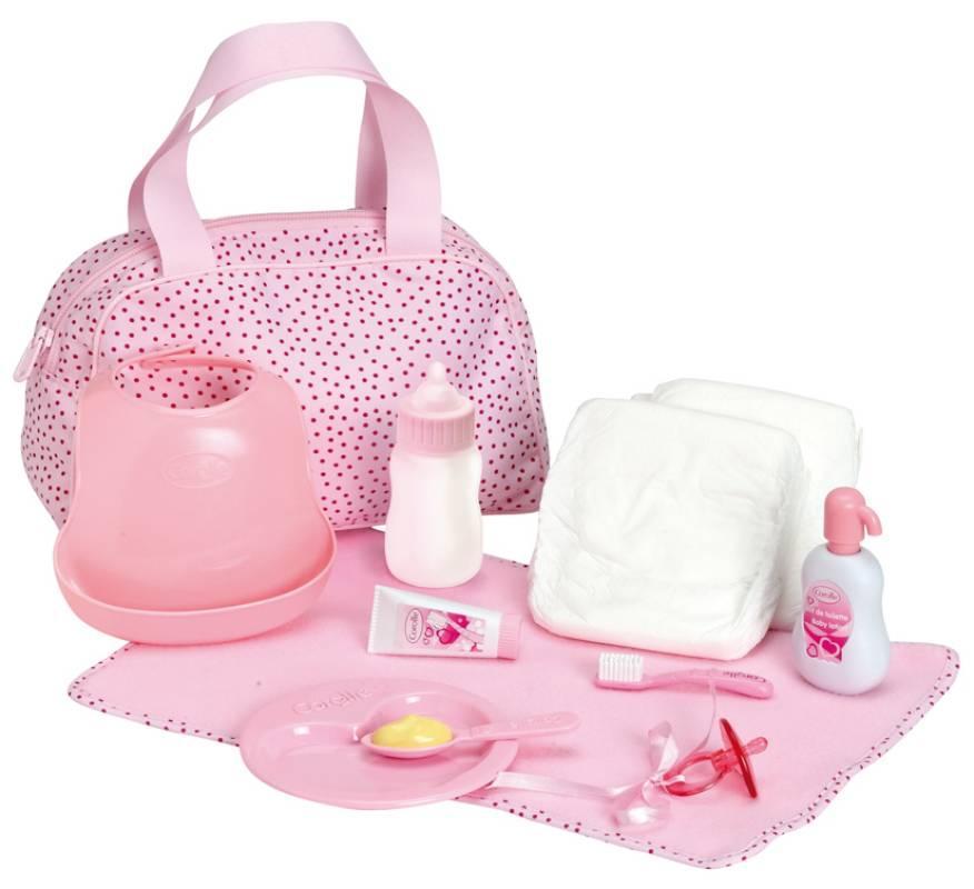 Corolle coffret accessoires pour poupon 36 42 cm - Accessoire de lit pour bebe ...