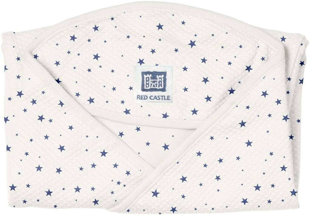red castle couverture babynomade coton etoiles bleu nuit. Black Bedroom Furniture Sets. Home Design Ideas