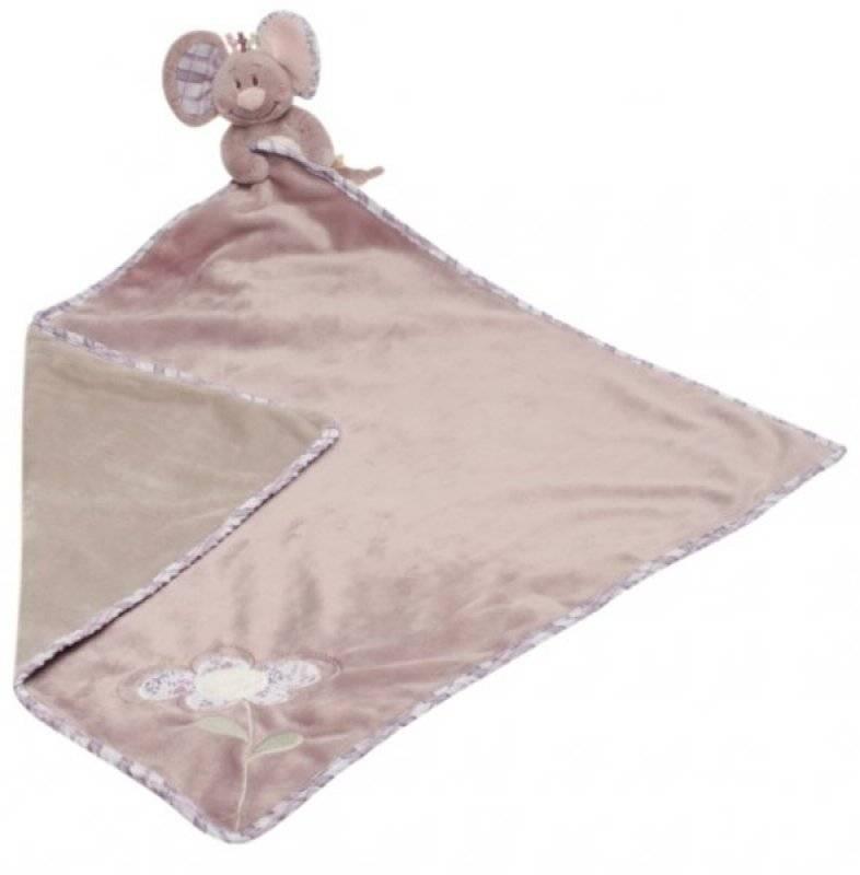 couverture doudou bébé Noukies   Couverture et doudou souris nina couverture doudou bébé