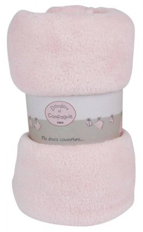 couverture bébé doudou et compagnie Doudou Et Compagnie   Couverture polaire douceur rose couverture bébé doudou et compagnie