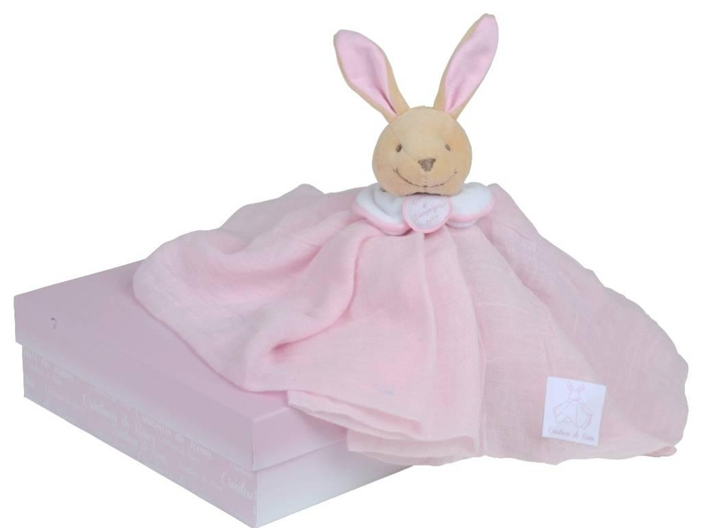 doudou et compagnie lapin l 39 ange rose. Black Bedroom Furniture Sets. Home Design Ideas