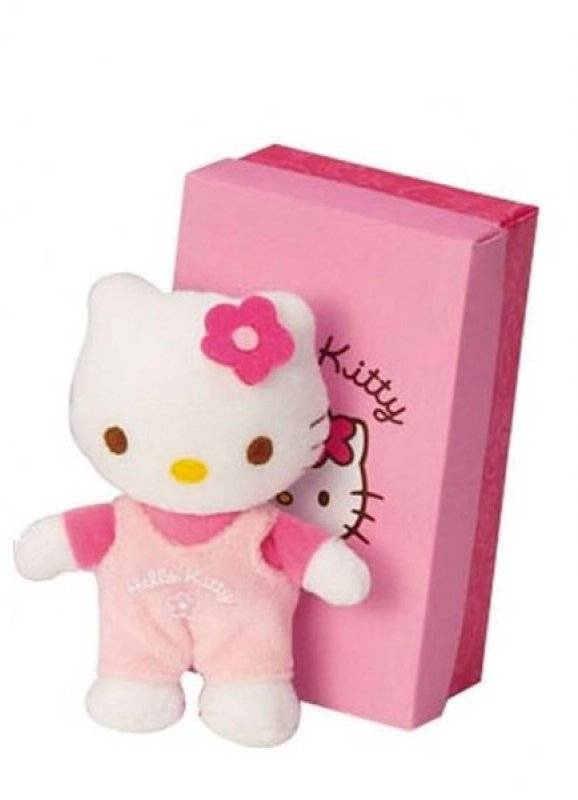 augusta du bay doudou mini hello kitty rose 10 cm. Black Bedroom Furniture Sets. Home Design Ideas