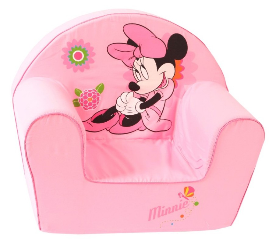 Disney fauteuil minnie rose doudouplanet - Bureau bebe 18 mois ...