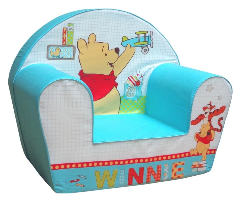 Disney fauteuil winnie tidy time doudouplanet for Housse fauteuil mousse bebe