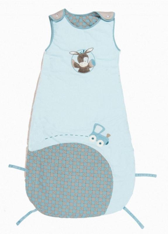 nattou gigoteuse coton gaston et cyril 90 110 cm. Black Bedroom Furniture Sets. Home Design Ideas
