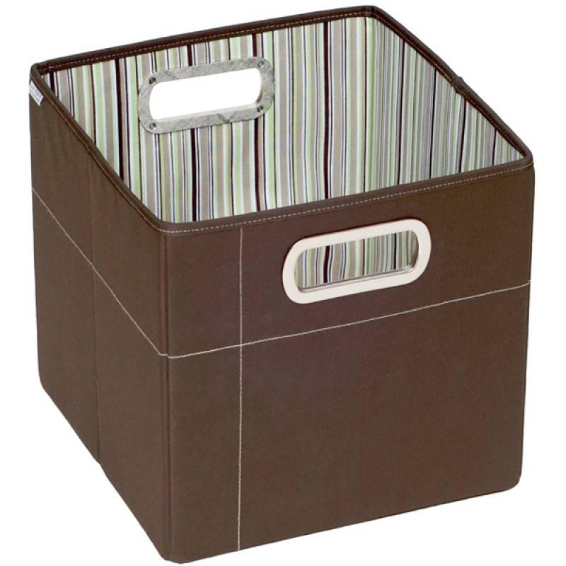 jj cole grande bo te de rangement chocolat. Black Bedroom Furniture Sets. Home Design Ideas