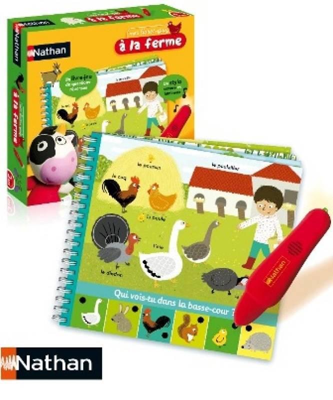 nathan jeux je d couvre les animaux de la ferme. Black Bedroom Furniture Sets. Home Design Ideas