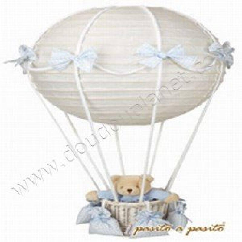 pasito a pasito lampe montgolfi re ourson bleu ancien mod le. Black Bedroom Furniture Sets. Home Design Ideas