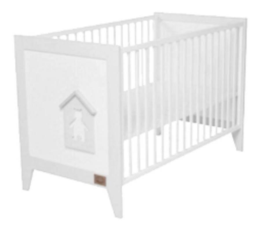 noukies lit barreaux nouky doudouplanet. Black Bedroom Furniture Sets. Home Design Ideas