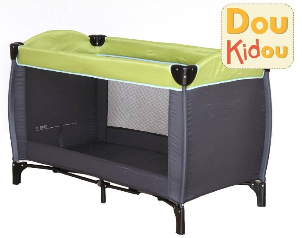 doukidou lit parapluie gris vert doudouplanet. Black Bedroom Furniture Sets. Home Design Ideas