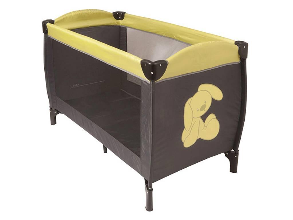 nattou lit parapluie lapidou gris vert doudouplanet. Black Bedroom Furniture Sets. Home Design Ideas