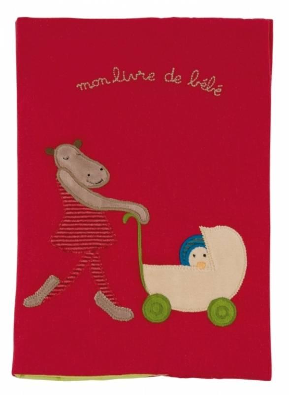 Moulin roty livre de naissance hippopotame les loupiots - Livre de naissance moulin roty ...