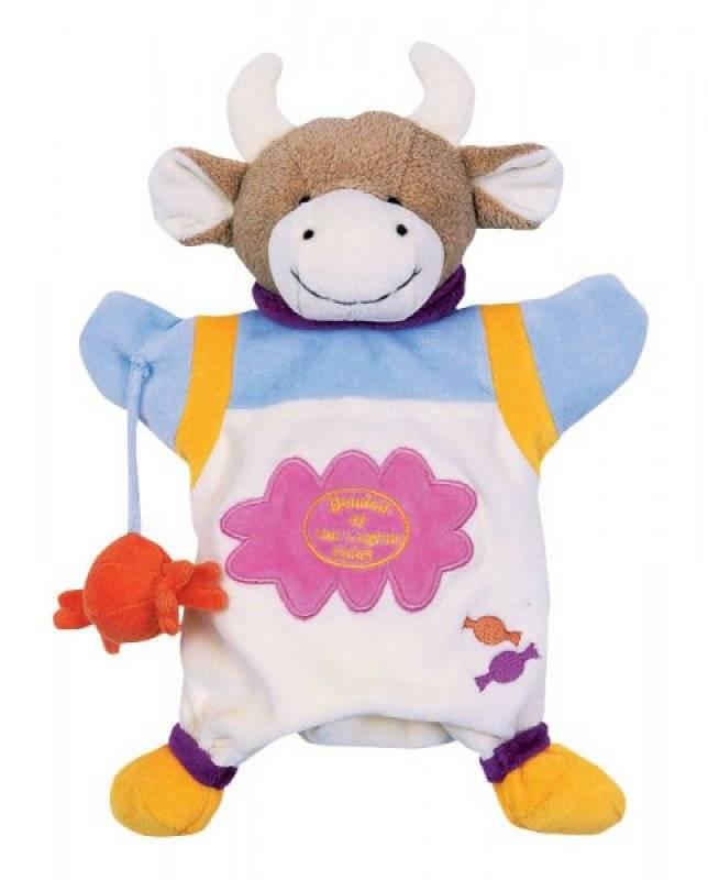 Vache Cerise Compagnie Doudou Et Marionnette kP0Onw8X