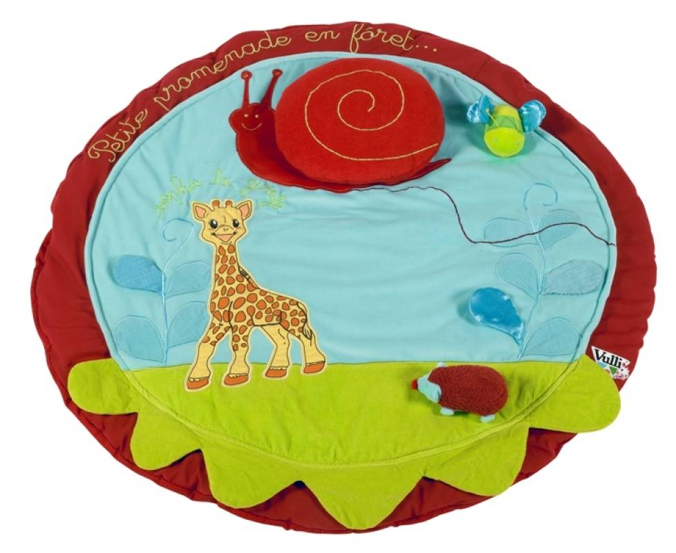 Marque Vulli Nom Tapis Eveil Sophie la Girafe Age 3 mois Collection ...