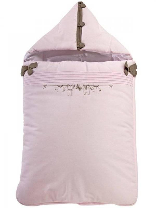 tartine et chocolat nid d 39 ange trousseau rose. Black Bedroom Furniture Sets. Home Design Ideas