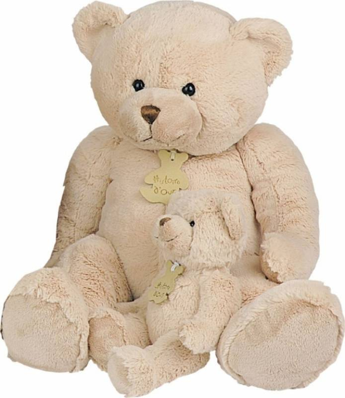 D 80 Calin Beige Ours Cm Histoire Peluche b7gy6vYf